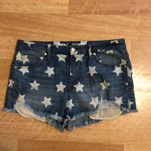 Mossimo star shorts 12